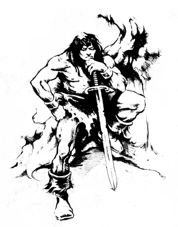 barbarian with sword fixed