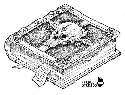 skull-book
