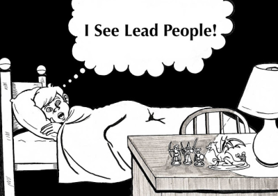 I see lead people