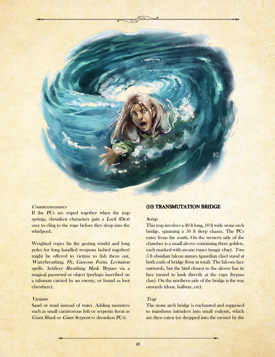 Whirlpool Page Low Fantasy Gaming