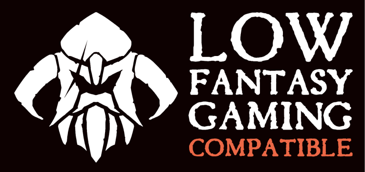 Low Fantasy Gaming Compatible black background landscape
