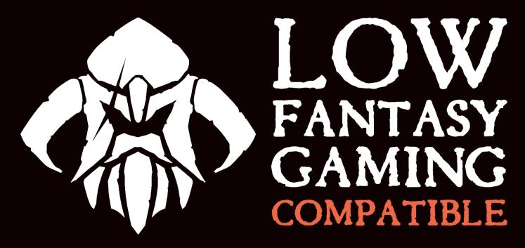 Low Fantasy Gaming Compatible black background landscape