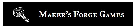 Maker's Forge Games banner