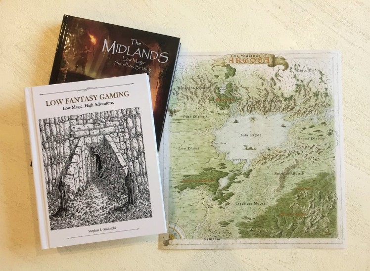 books & map