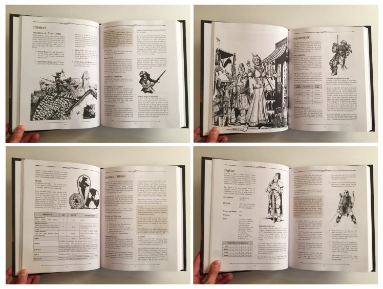 B&W Hardcover Interior