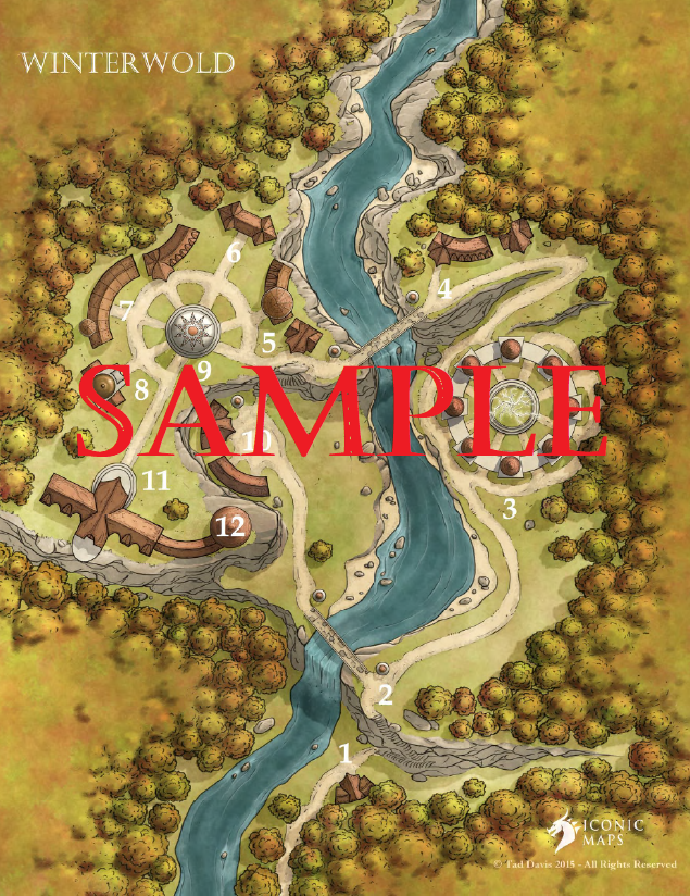 Winterwold map sample